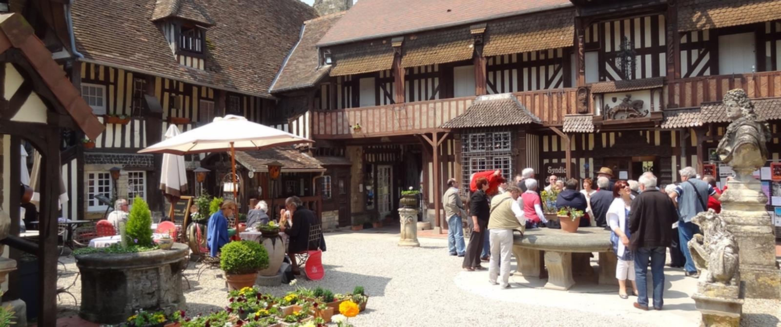Hotel Restaurant Honfleur Et Environs